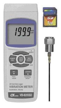 VB-8205SD SDカードデータロガデジタル振動計  VB8205SD  マザーツール MotherTool 【送料無料】【激安】【セール】
