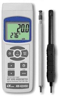 AM-4224SD SDカードデータロガ熱線式風速・風量計  AM4224SD  マザーツール MotherTool 【送料無料】【激安】【セール】