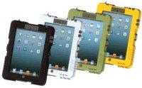 ishell アイシェル マットブラック/マットホワイト/タクティカルグリーン/ライトイエロー 防水型iPadケース  アンドレスインダストリーズ 【送料無料】【激安】【セール】