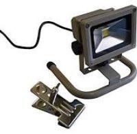 DN-102+OP-001 (オリジナル)LED投光器  10W バネクランプ付  富士倉
