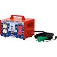 M-EK20 昇圧専用トランス 屋内型 安全型 アース付・過負荷漏電しゃ断器付 日動工業 【送料無料】【激安】【破格値】【特売セール】
