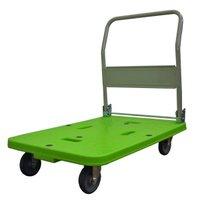 LSK-311 軽量 樹脂台車 グリーン LSK311  ナンシン 【送料無料】【激安】【セール】