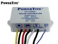 PV-1206A 太陽電池充放電コントローラー 12V 6A  PV-1206A  PowerTite(未来舎) 【送料無料】【激安】【セール】