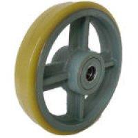 USB250 鋳物中荷重用ウレタン車輪ベアリング入 250φ   ヨドノ(YODONO) 【送料無料】【激安】【セール】