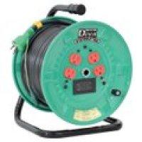 NPDM-EK34 電圧電流メーター付  デジタルドラムDiVA(ディーヴァ) 屋内型 過負荷漏電保護兼用 日動工業