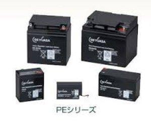 画像1: PE12V24B1 GSユアサ製 畜電池・バッテリー(標準タイプ) 12V/24Ah GSユアサ