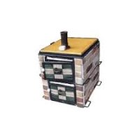 EPOV0701 炭火オーブン窯レンガタイルタイプ 650×530×H650 キンザン