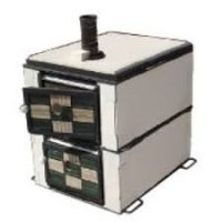 EPOV0801 炭火オーブン窯ホワイトボードタイプ 650×530×H650 キンザン