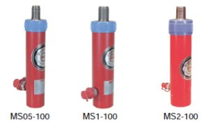 画像1: MS1-100VC 油圧シリンダ  理研機器(リケン)