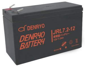 画像1: JRL7.2-12 DENRYO BATTERY 産業用鉛蓄電池 電菱(DENRYO)