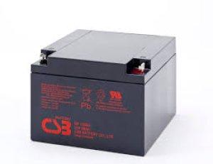 画像1: GP12260 バッテリー 標準タイプ GPシリーズ NP24-12B PE12V24 12m24B HP24-12A相当 12V/26Ah CSB