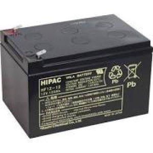 画像1: HF12-12 鉛蓄電池 長寿命・高率放電タイプ HFシリーズ RE12-12相当 12V/12Ah 日立化成
