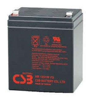 画像1: HR1221W バッテリー 高率放電タイプ HC/HRシリーズ NPH5-12 PX12050SHR相当 12V/5Ah CSB
