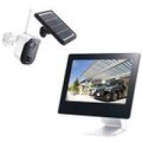 CAR-101 ソーラーバッテリー無線カメラ&モニターセット  キャロット