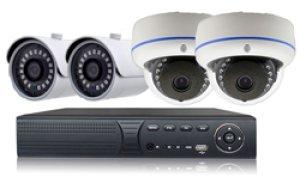 画像1: ITS-5MPCAM-SET 500万画素カメラ4台セット バレット・ドーム組合せ自由 安達 安達