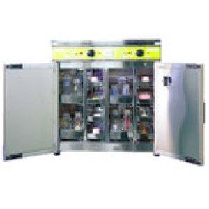 画像1: HCS-2020 哺乳びん用熱風殺菌消毒保管庫 CSKK3101 エイシン