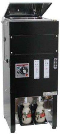 NET-2 電気式酒燗器 NET-2 26401220 タンク式(3升) 2本取 サンシン