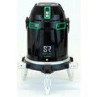 222723 電子自動整準リアルグリーンラインレーザー墨出器 本体セット(受光器セット+三脚) G-440SR マイゾックス