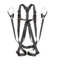 A1GSLFR-WL1BK ハーネスGS 平ロープ ダブルL1セット 黒 L  TJMデザイン(タジマ) 4975364261113