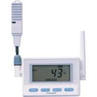 MD8202-100 監視機能付無線ロガー 送信器 温湿度センサ 専用バッテリリード1M 4495047  チノー(CHINO)
