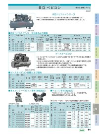 7.5U-9.5CV ベビコン本体 コンプレッサー 日立産機システム