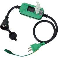 DMB-E011W 電圧電流メーター付  デジタルドラムDiVA(ディーヴァ) 屋外型 BOXタイプ 0.9m  日動工業