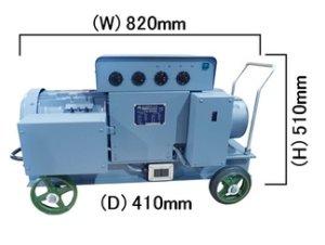 画像1: FG-505NE 高周波発生機 高効率モータ 富士製砥 高速電機