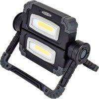 LFS-10BAMOV-W 電池式LEDフラットスタンドライトツイン     日動工業 4937305058725