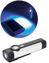 SL-2PCH-UV 充電式LEDポケットライト   ブラックライト付  日動工業