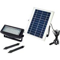 SOL-2W-SEP-RGB ソーラーLEDライト セパレート式エコフラッシュカラー  日動工業