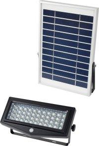 SOL-N12PIR-SEP-10M ソーラーLEDセンサーライト セパレート式エコフラッシュ  日動工業 4937305058596