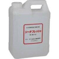 CF-04 シーダフレッシュ(杉材専用赤味復元剤)  4L  アールジェイ(RJ) 4991254333401