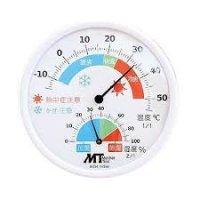 MTH-115W 室内用アナログ温湿度計  マザーツール