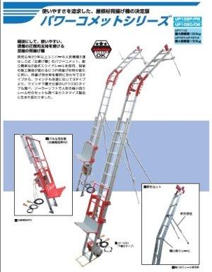 画像1: UP103D-H-3F パワーコメット  ウィンチなし  ユニパー(UNIPER)